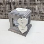 Shabby Chic PERSONALISED Rustic Wood In Memory Of GRANDAD Photo Cube ANY NAMES - 232995530258